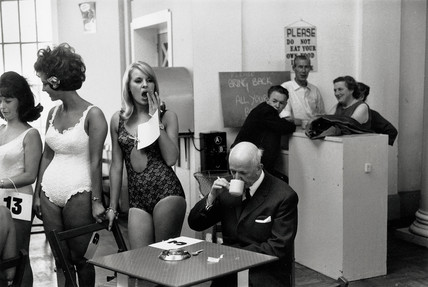 Beauty contestants, Southport, Merseyside, 1967.
