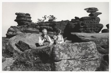 Brimham Rocks, North Yorkshire, 1968.