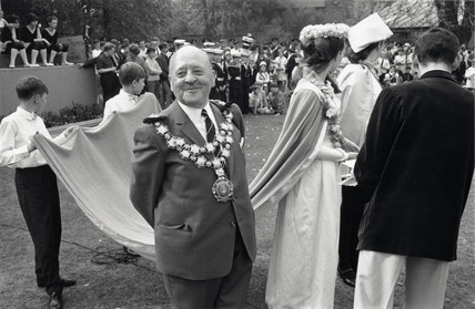 Gravesend May Queen Festival, Kent, 1968.