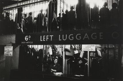 Wimbledon station, London, 1967.