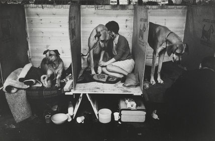 Cruft's Dog Show, London, 1966.