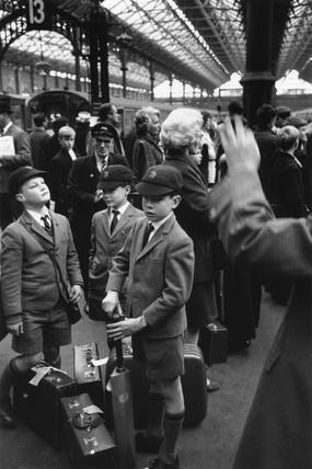 Victoria station, London, 1969.