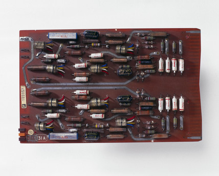 Drum read amplifier, 1962.
