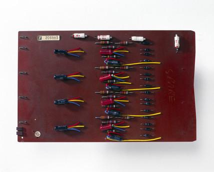 Control logic board, 1962.