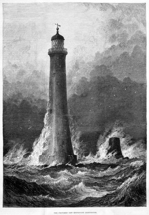 'The Proposed New Eddystone Lighthouse',  1879.