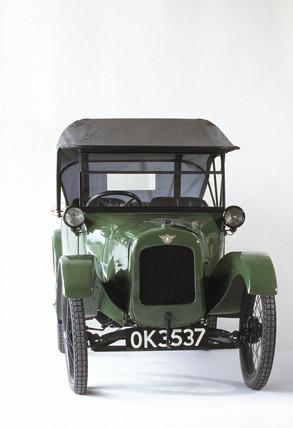 Austin Seven motor car, 1922.