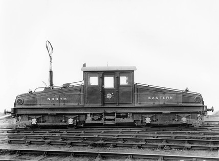 North Eastern Railway bo-bo electric locomotive, No 1 or No 2, c 1904.