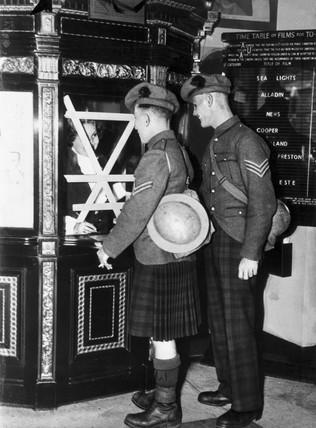 Cinemas reopening today, c 1939-1945.