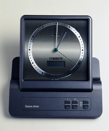 Kundo 'Space Timer' radio-controlled desk clock, 1988.