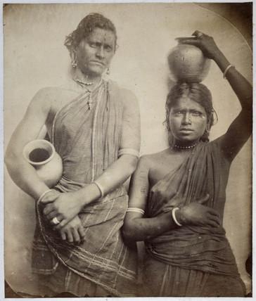 Cingalese women, c 1875-1879.