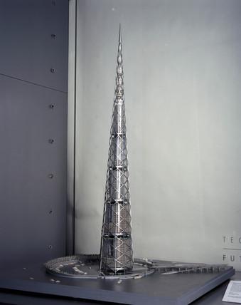 Tokyo Bay millennium tower, c 1996.