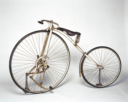 Geared 'Facile' bicycle, 1888.