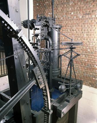 Boulton and Watt rotative engine, 1788.
