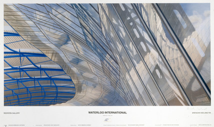 Waterloo International, BR poster, c 1993.