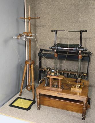 X-ray installation, 1896-1897.