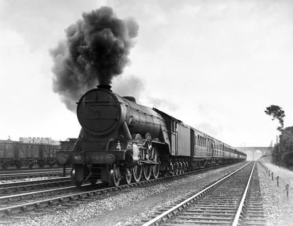 'Flying Scotsman', c 1946.