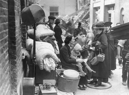 'Hitler made them homeles', 15 September 1940.