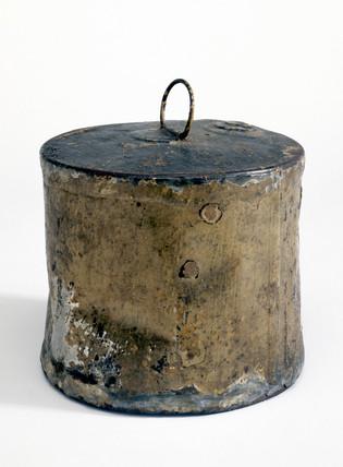 Tin of roast veal, 1823.