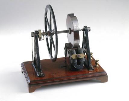 Wheatstone sawtooth type electromagnetic engine, 1841.