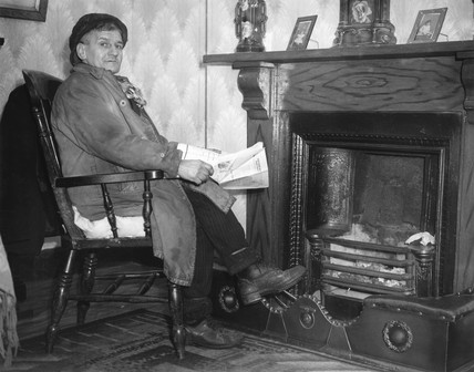 A South Wales coal miner, 28 January 1940.