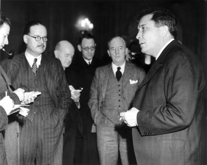 Wendell Wilkie, an American envoy, 27 January 1941.