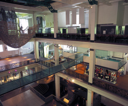 Glas bridge, Science Museum, London, 1998.