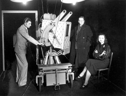 John Logie Baird, television pioneer, c 1940s.