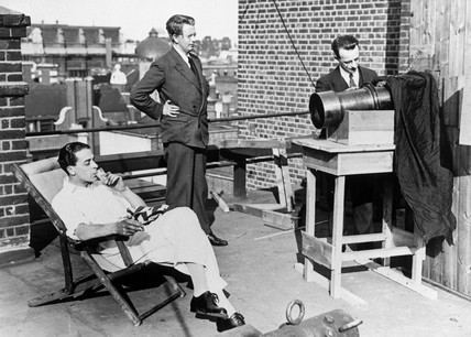 John Logie Baird, television pioneer, c 1927.