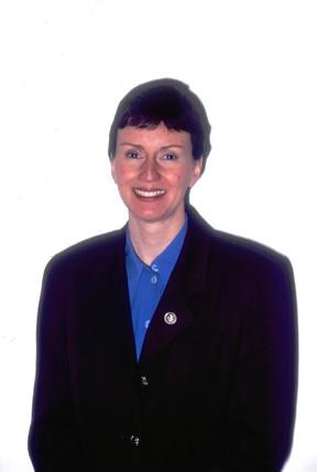 Helen Sharman, English cosmonaut, 1998.