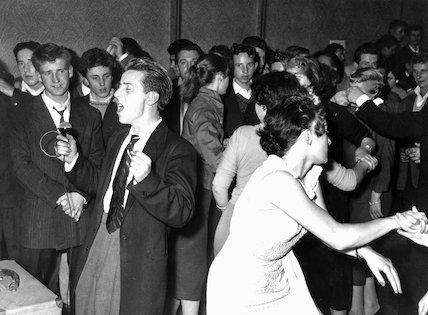 First rock n roll club in Britain, 4 Septem