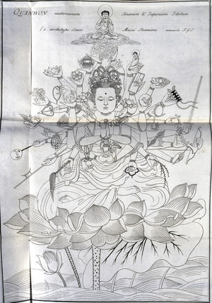 The Boddhisattva Kannon, c 1690.
