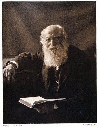George Johnstone Stoney, Irish mathematical physicist, c 1900.
