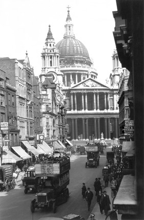 St Paul's Cathedral, London, c 1910s.