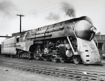 J-3a 'Hudson' New York Central 4-6-4 steam locomotive No 5447, 1941.