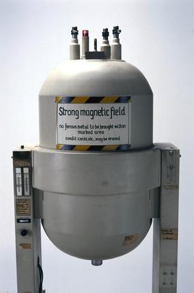 Superconducting magnet, c 1990s.