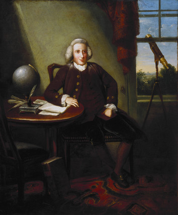 James Ferguson, British astronomer and artist, 18th century.