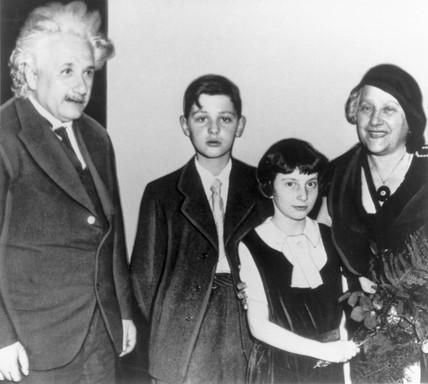 Albert Einstein, German mathematical physicist, c 1930s.