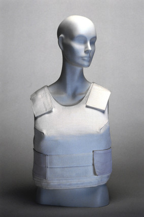 Bullet- and stab-resistant vest, 1996.