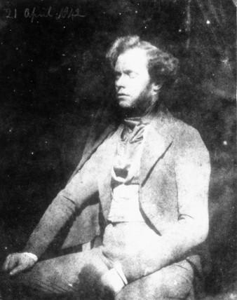 Portrait of Nicolas Henneman, 1842. Photogr