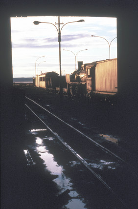 RFIRT engine shed at Rio Gallegos in Patago