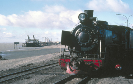 2-10-2 steam locomotive of the RFIRT at Rio