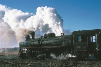 2-10-2 steam locomotive No 119 of the RFIRT