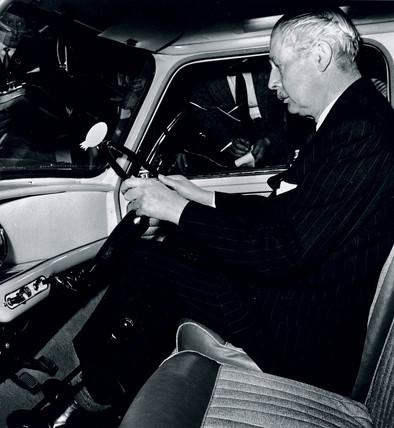Harold Macmillan, English statesman and Conservative prime minister, 1959.
