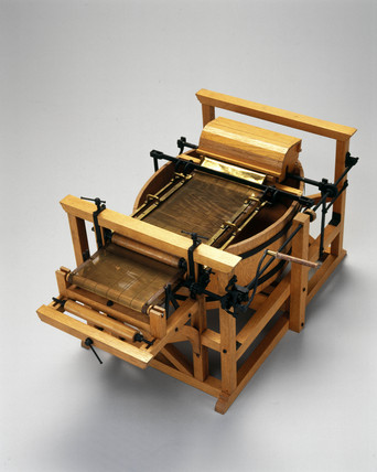 Robert papermaking machine, 1798.