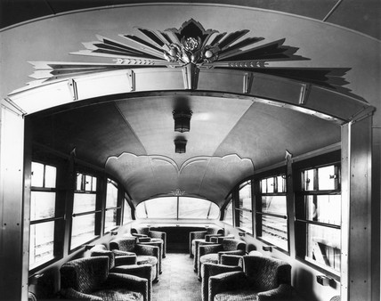 Coronation observation car, 1937. London No