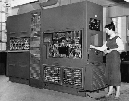 Powers Samas Programme Controlled Computer, c 1957.