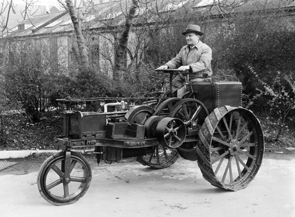 The Ivel Agricultural Tractor, 1951.