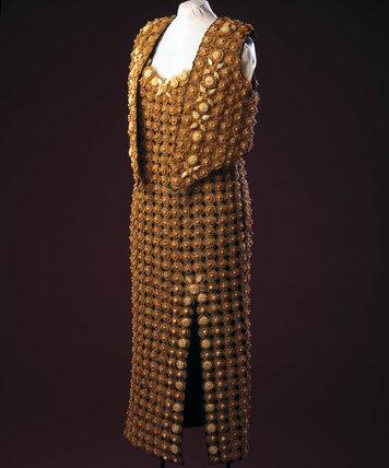 Twisted straw dres, c 1995.