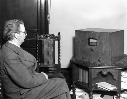 John Logie Baird (1888-1946), television pi