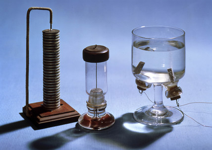 Apparatus for electrolysis, 1800-1820.